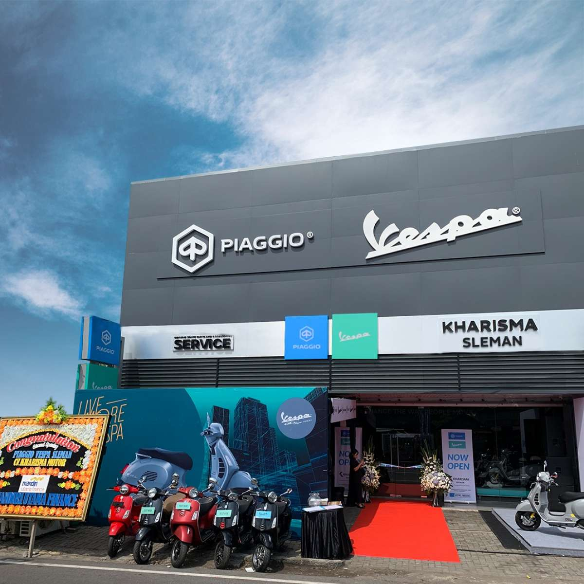 PT Piaggio Indonesia Perluas Jaringan Diler Baru di Sleman Yogyakarta