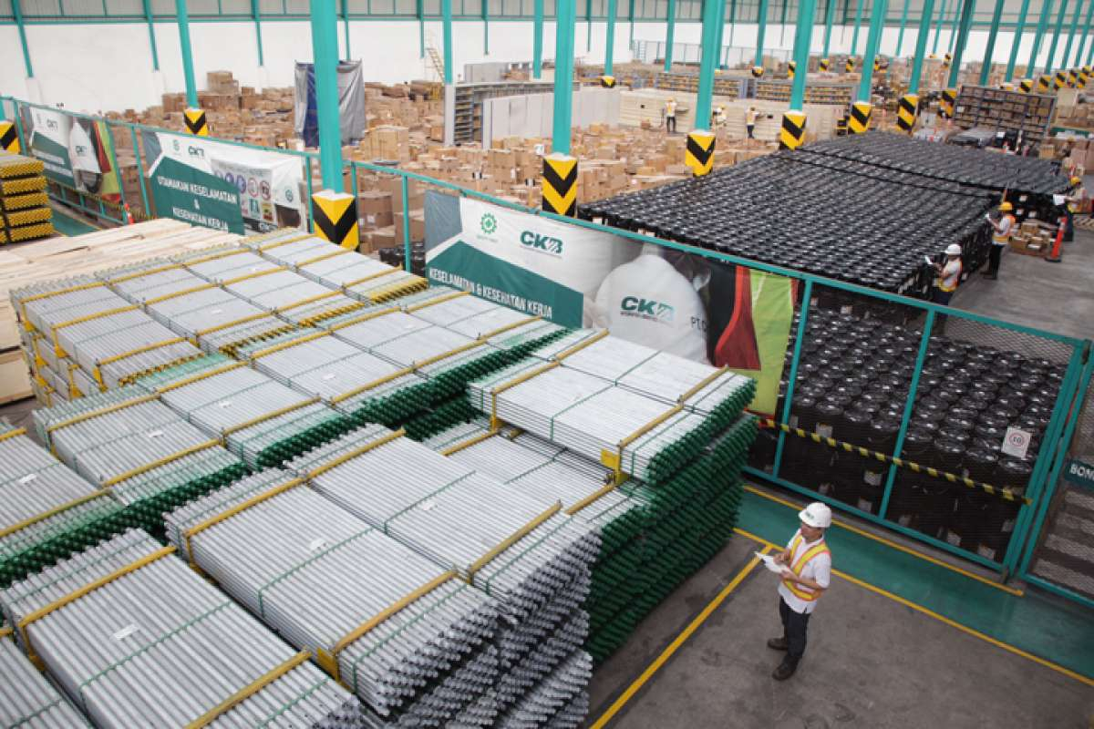 Kapasitas Gudang CKB Logistics