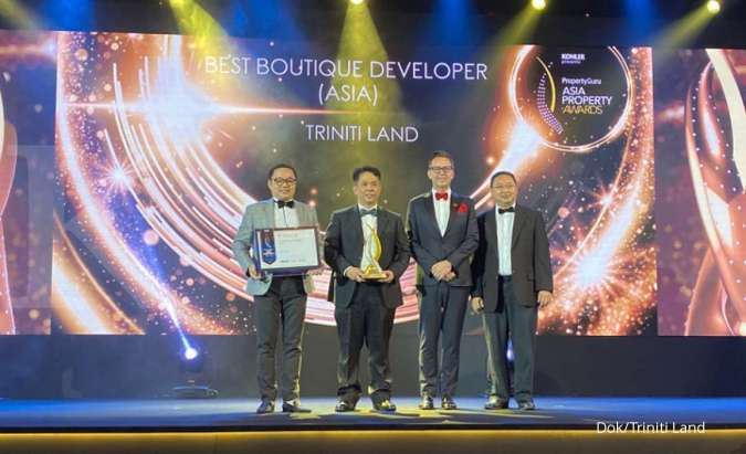 Triniti Land sabet penghargaan ASIA Best Boutique Developer Asia