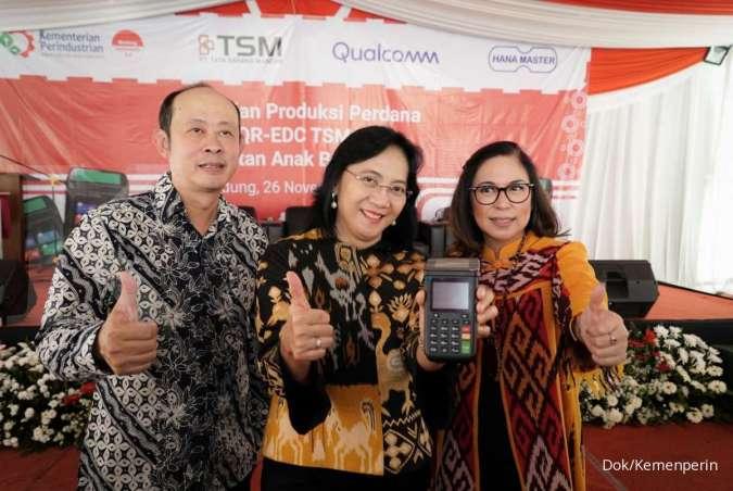Pacu Daya Saing IKM, Kemenperin Apresiasi Mesin QR-EDC Buatan Lokal