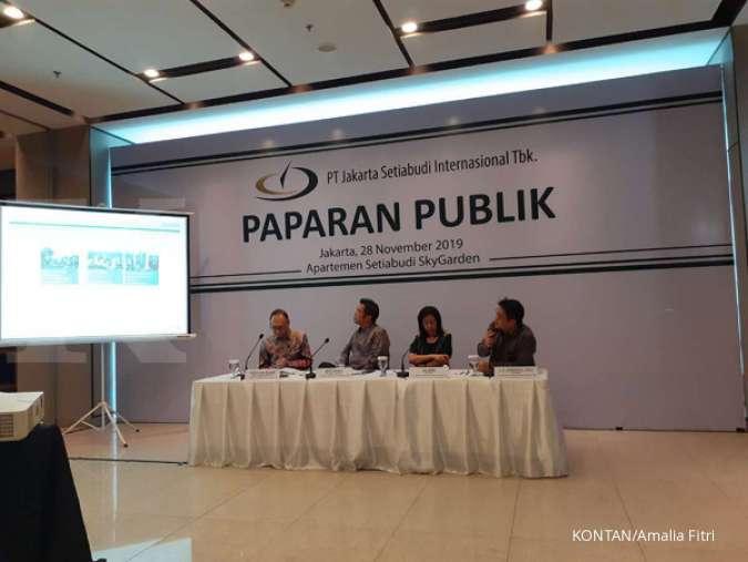 JSPT Jakarta Setiabudi (JSPT) optimistis kenaikan revenue tembus 10% akhir 2019