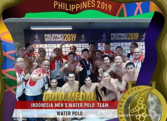 Indonesia peringkat ke-6 klasemen medali SEA Games 2019