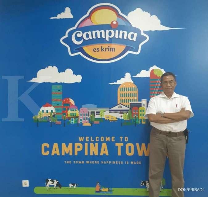 Ini ikhtiar Campina Ice Cream (CAMP) untuk menjaga penjualan di tengah pandemi corona