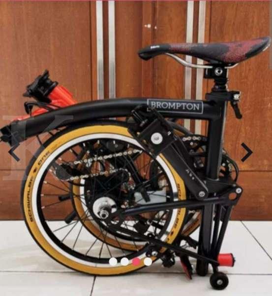 Sepeda lipat Brompton mahal? Yang lebih mahal banyak!