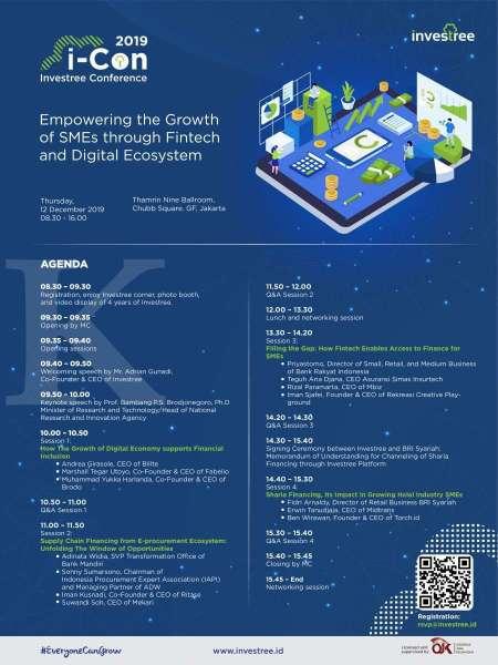 Pertama Kalinya, Investree Gelar Investree Conference (I-Con) 2019