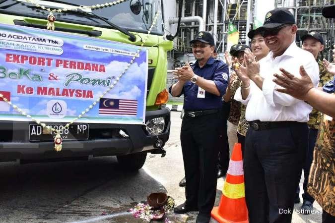 SRSN Kementan lepas ekspor perdana pupuk organik Indonesia milik Indo Acidatama