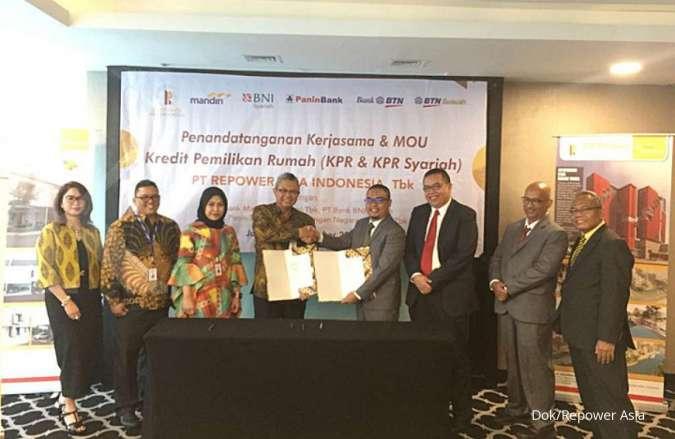 REAL PNBS Repower gandeng Bank BSM, Panin Syariah, dan Bank Kalsel untuk pembiayaan KPR
