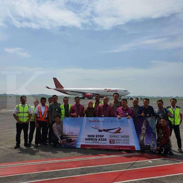 Penerbangan Perdana Premium Services Airlines Umroh Batik Air Memberikan Pilihan Berkualitas Surabaya - Madinah