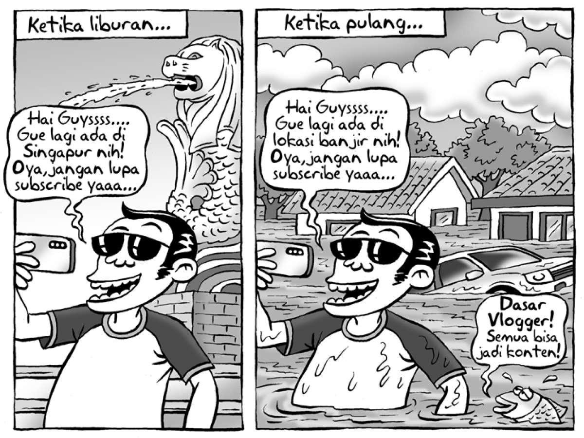 Benny Rachmadi - Diterjang Banjir Seusai Libur