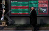 Asia shares camp on high ground, oil up on Libya shutdown