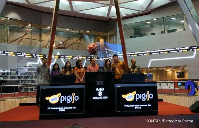 Melantai sebagai emiten pertama papan akselerasi, harga saham Pigijo (PGJO) naik 10%