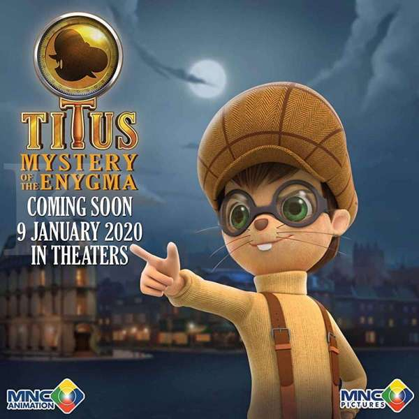 Poster film Titus: Mystery of the Enygma