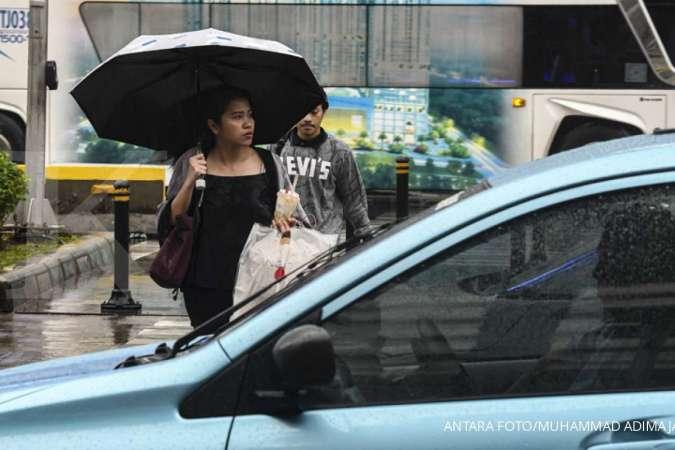 BMKG: Hari ini hujan masih bisa turun di wilayah Jabodetabek