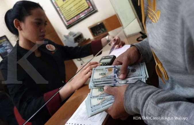 Kurs pajak hari ini 20-26 Januari 2021, rupiah loyo atas mayoritas mata uang./pho KONTAN/Carolus Agus Waluyo/13/01/2020.