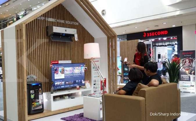 Sharp Indonesia Tawarkan Kecanggihan Produk AIoT Dalam Pameran Sharp AIoT World