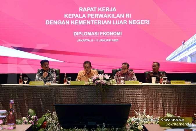 Mendag Ajak Para Perwakilan RI di Luar Negeri Lakukan Diplomasi EkonomiTingkatkan Ekspor Indonesia