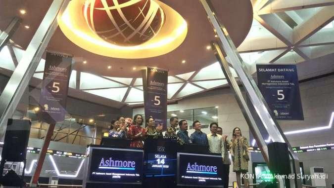 Resmi melantai, saham Ashmore Asset Management (AMOR) melesat 50% ke auto reject atas