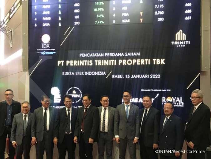 Sukses Menggelar IPO, Begini Target dan Strategi Triniti Land (TRIN)