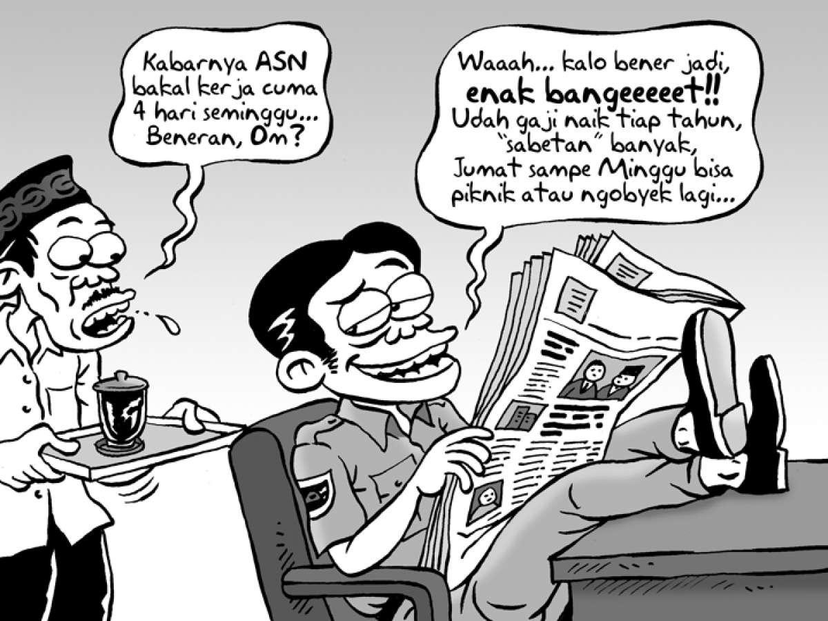 Benny Rachmadi - Kabar Empat Hari Kerja