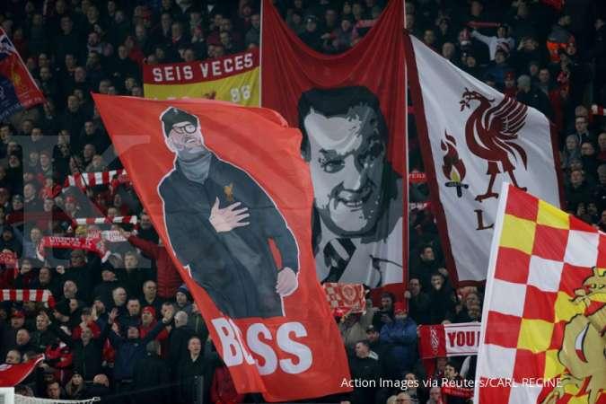 Jelang laga Everton vs Liverpool, Klopp minta suporter tak berkumpul di depan stadion