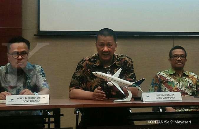 Dirut Garuda Indonesia (GIAA): Kita akan mencari utang baru