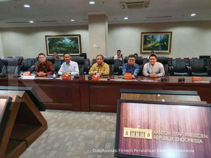 AFPI dan OJK Bersama Kepala Staf Kepresidenan Bahas Arah Baru UMKM dan Petani Digital Petani Tersenyum, Indonesia Turut