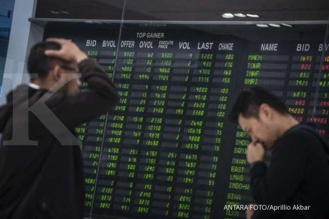 IHSG ambles, saham-saham LQ45 ini harganya turun beruntun berhari-hari