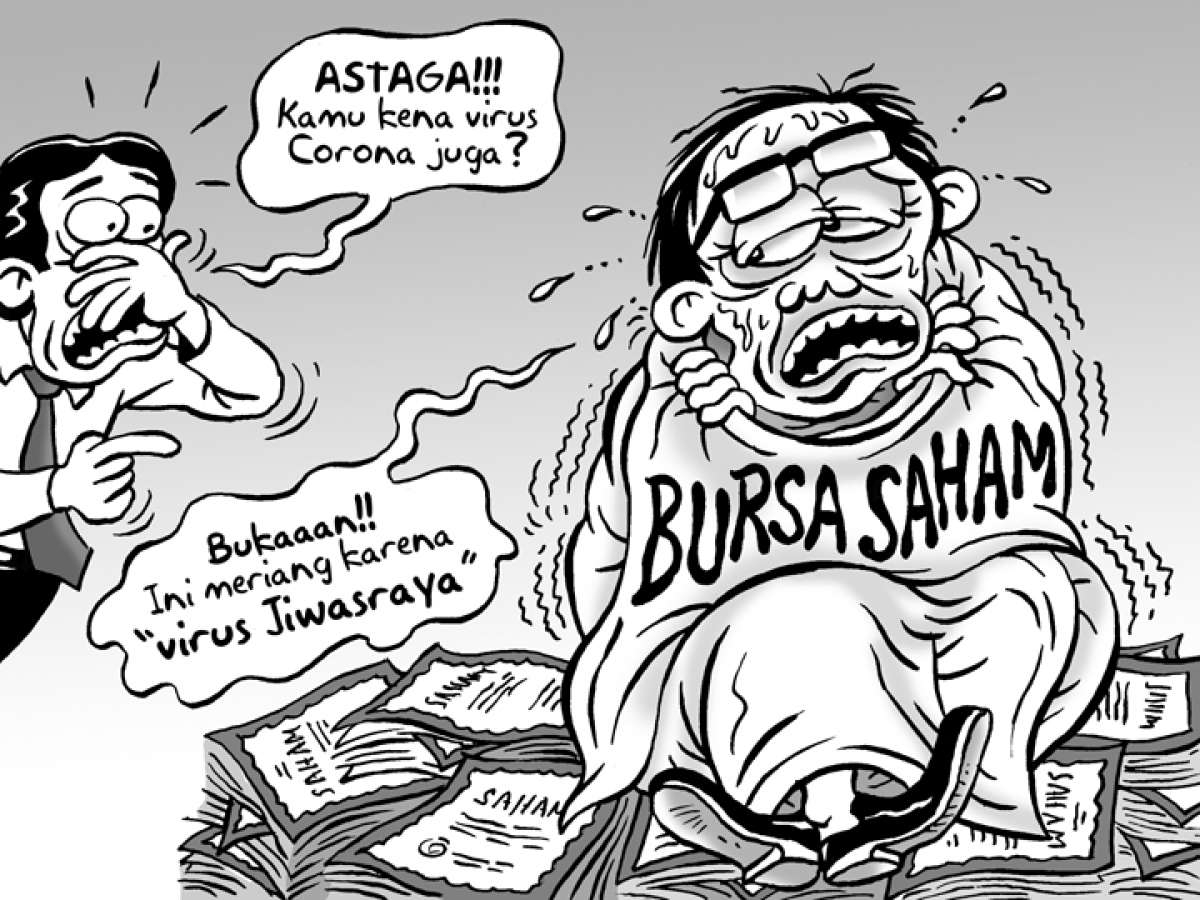 Benny Rachmadi - Bursa Meriang Gara-gara Jiwasraya