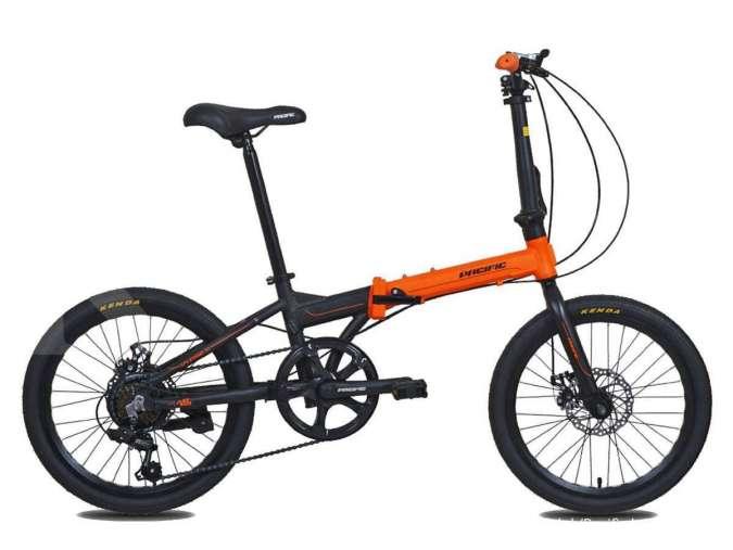 Mulai Rp 1 jutaan, cek daftar harga sepeda lipat Pacific