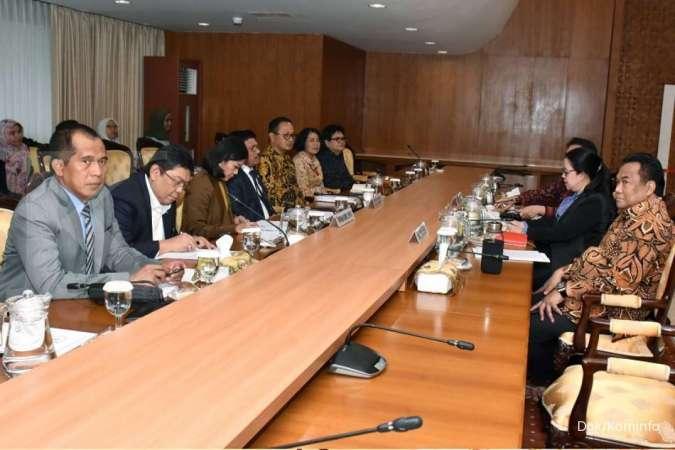 Ketua DPR RI dan Menkominfo Gelar Rapat Koordinasi dan Konsultasi Pembahasan RUU PDP