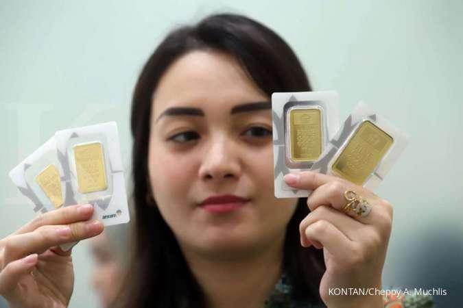 Potensi tekor 15% meski harga emas Antam hari ini (26/11) tak berubah