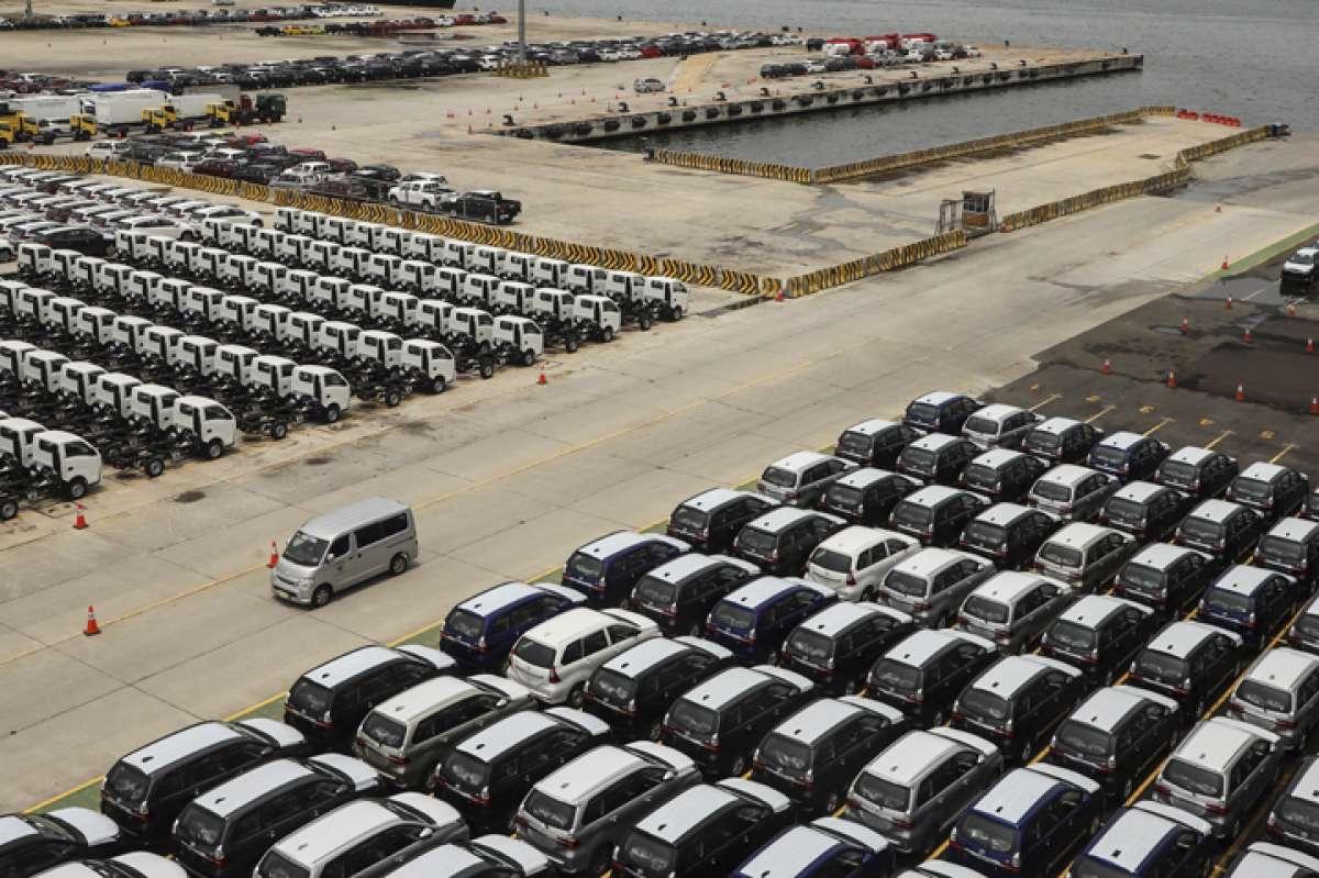 Ekspor kendaraan produksi Indonesia