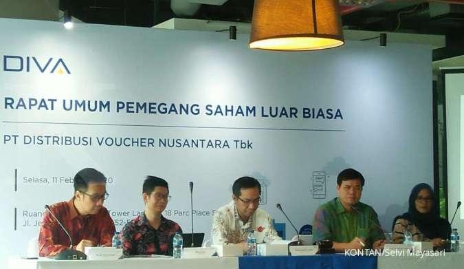 Distribusi Voucher Nusantara Tbk (DIVA) targetkan jaringan mitra bertambah 10.000
