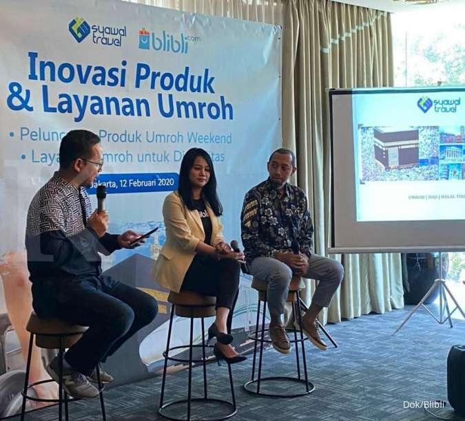 Syawal Travel dan Blibli.com Luncurkan Inovasi Produk untuk Hadirkan Paket Perjalanan Umroh Weekend dan Layanan Disabili