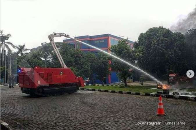 Pemprov DKI gelontorkan Rp 37,4 miliar untuk beli 1 robot pemadam kebakaran