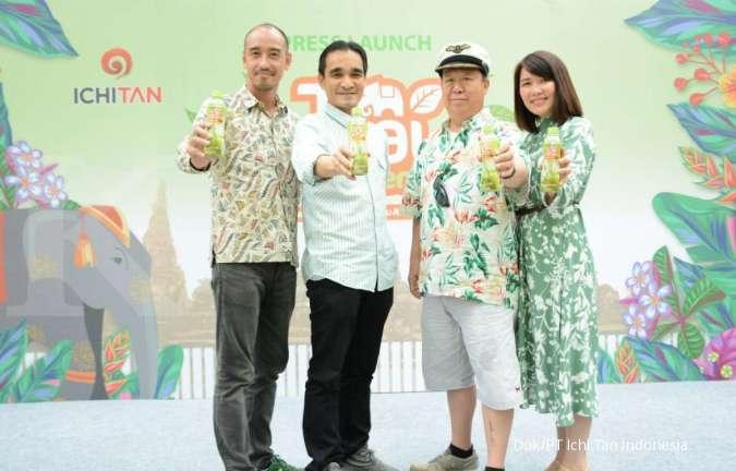 Kembali Berinovasi! Ichitan Luncurkan Thai Milk Green Tea