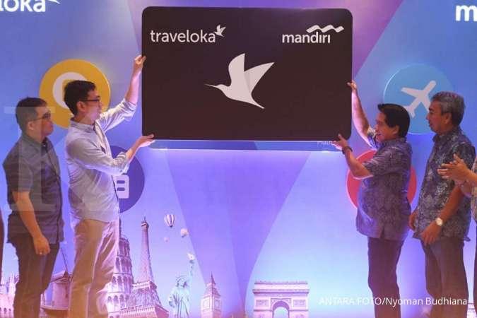 Bank Mandiri gandeng Traveloka untuk memperkuat bisnisnya di segmen pariwisata