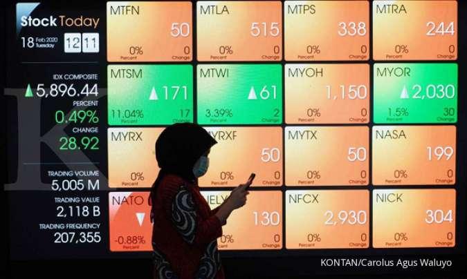 Aksi jual asing Rp 1,46 triliun, ini saham-saham yang banyak dilego asing