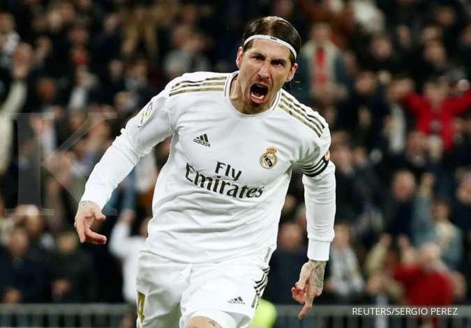 Sergio Ramos dikaitkan dengan Liverpool di bursa transfer musim dingin
