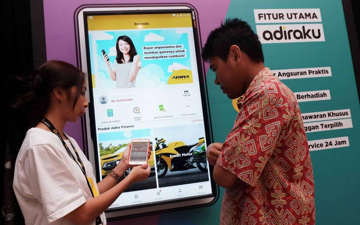 Peluncuran aplikasi pembiayaan digital Adiraku