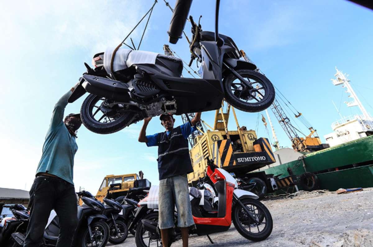 Penjualan sepeda motor 2020 belum ngegas