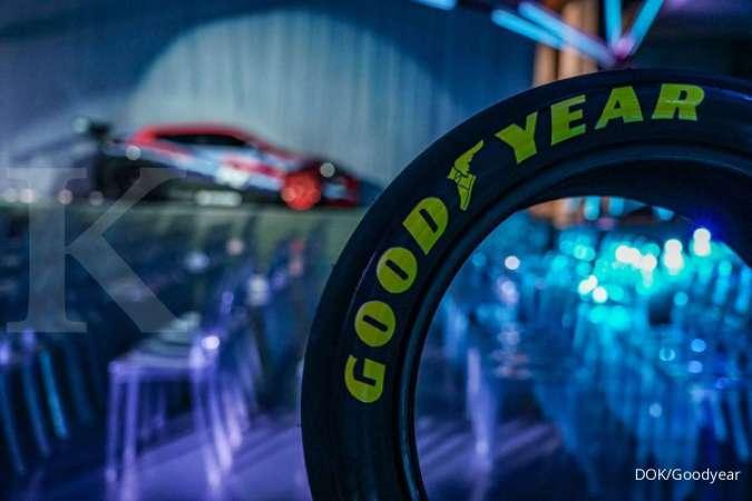 GDYR Goodyear (GDYR) kembangkan ban pintar yang mampu mengoptimalkan pengurang jarak henti