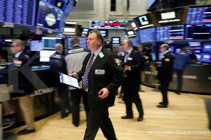 Aksi jual Wall Street semakin dalam, Dow dan S&P 500 jatuh lebih 3%