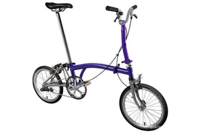 Asik! Harga sepeda Brompton seri Superlight di bawah Rp 35