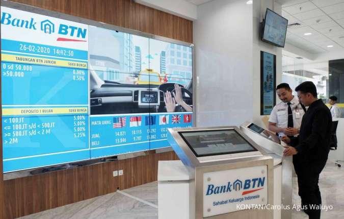 Meski laba merosot tajam, Bank Tabungan Negara (BBTN) tetap niat tebar dividen