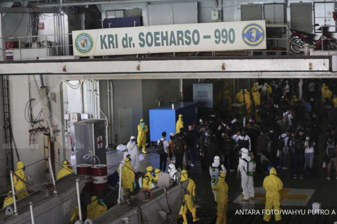 188 ABK World Dream berhasil dievakuasi ke Pulau Sebaru, ini kronologinya