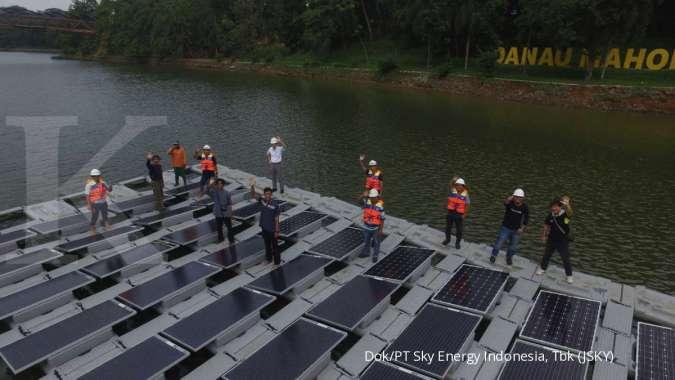 JSKY dan Universitas Indonesia bangun PLTS Terapung Bifacial, begini penampakannya...
