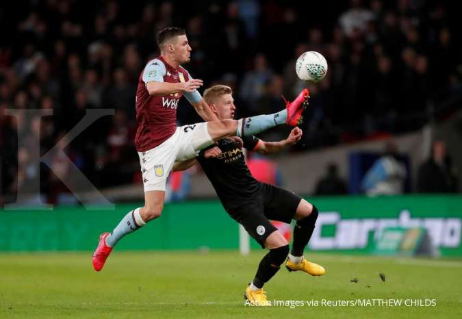FOTO SPORT: Final Piala Liga Inggris Manchester City-Aston Villa (2-1)