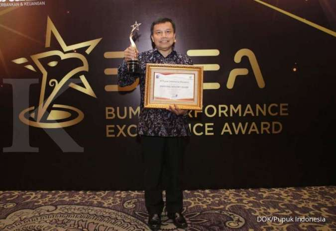 Serius dongkrak daya saing, Pupuk Indonesia raih level Emerging Industry Leader (EIL)