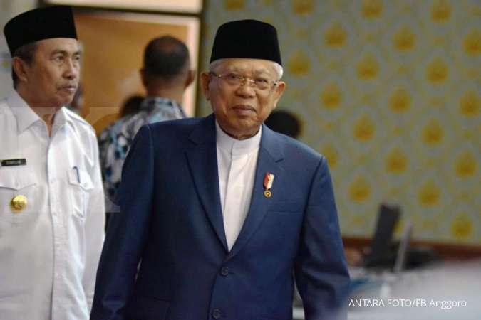 Sambut Lebaran Wapres Ma'ruf Amin minta masyarakat tetap optimistis hadapi Covid-19